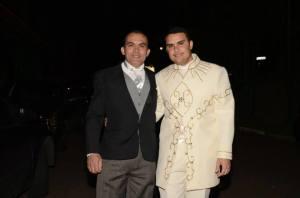 Noivo e o pai !! .. Lindos .